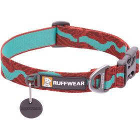 Ruffwear Flat Out Collar, marron/turquoise